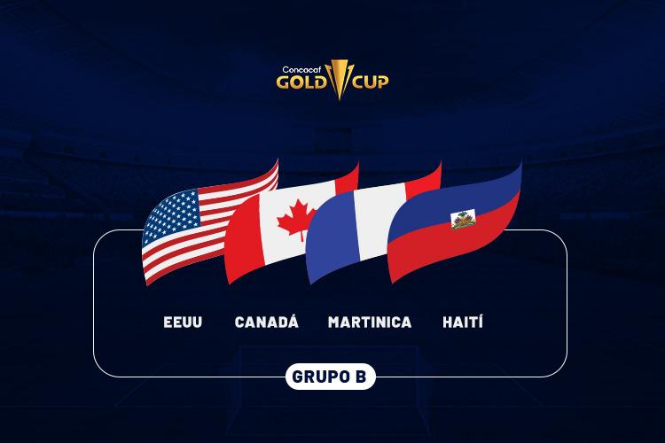 GRUPO B Copa de Oro 2021